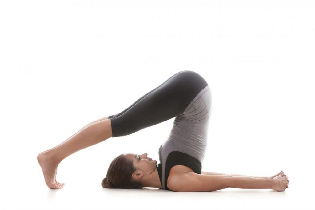 Halasana Yoga para sistema nervoso